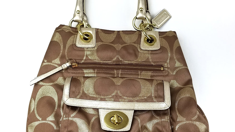 Coach Hampton Lurex beige/gold