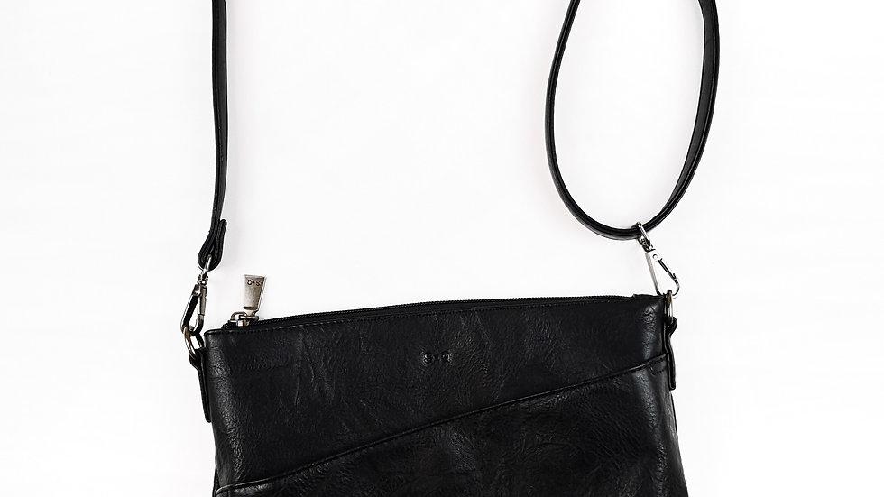 SQ vegan leather crossbody