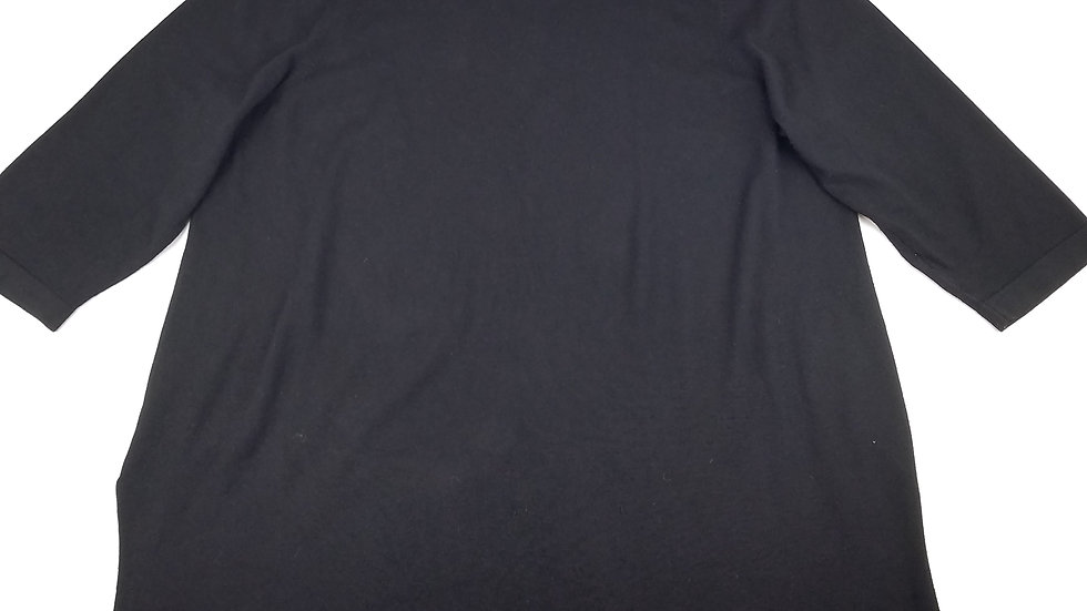 Cable & Gauge black sweater with grommet detail size 2XL