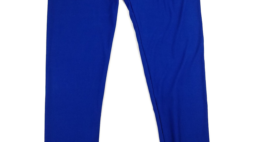 Leggings royal blue one size