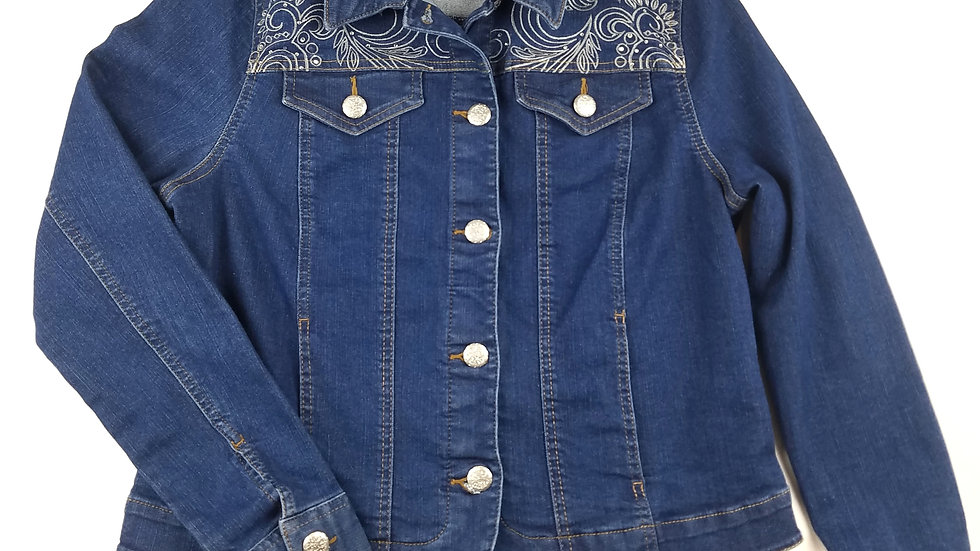 Alia denim jacket size 8(medium)