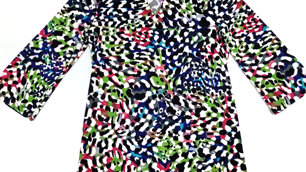 Peter Nygard multi colour print size s/m