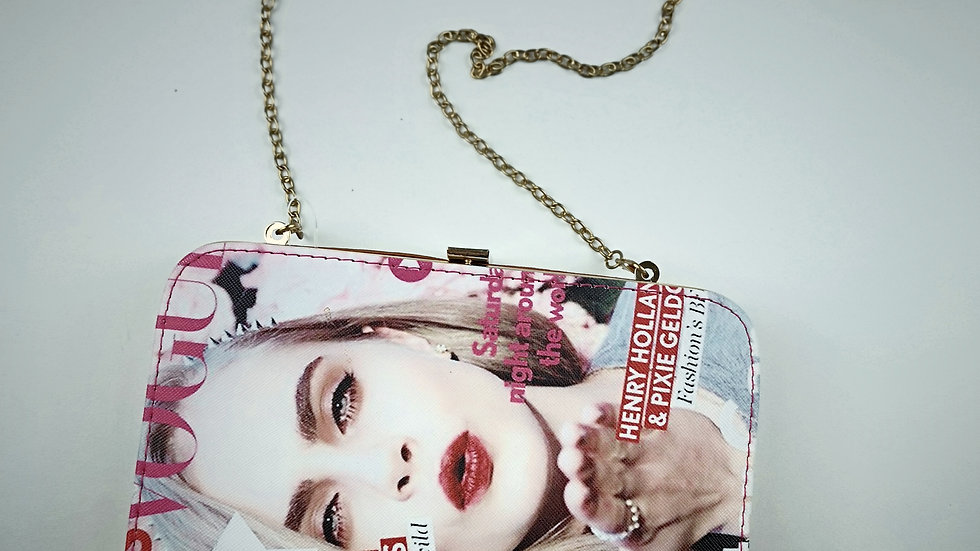 Vogue purse with chain