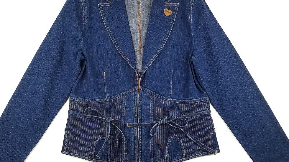 Simon Chang denim jacket size medium