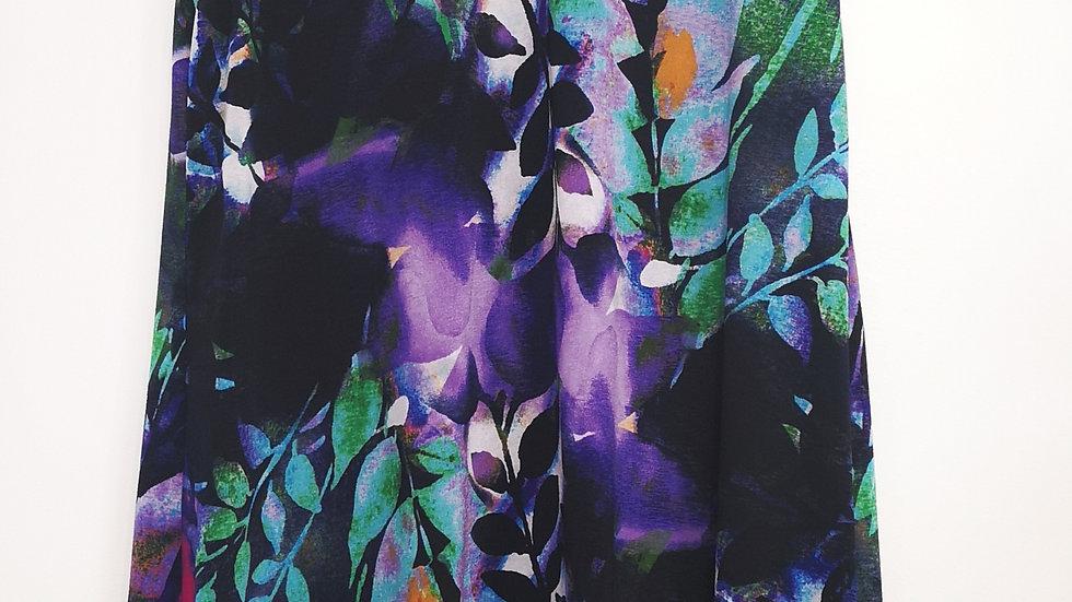 Frank Lyman purple floral dress size 16
