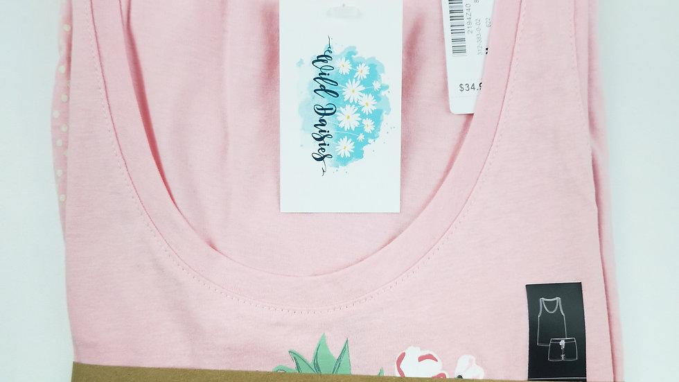 La vie en rose 2 PC ok set pink size Med