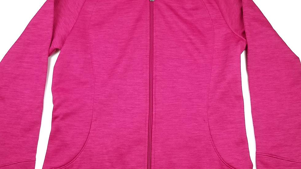 Cloudveil pink zip hoodie size large