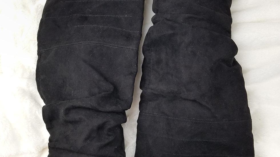 Aerosoles black suede boots size 7