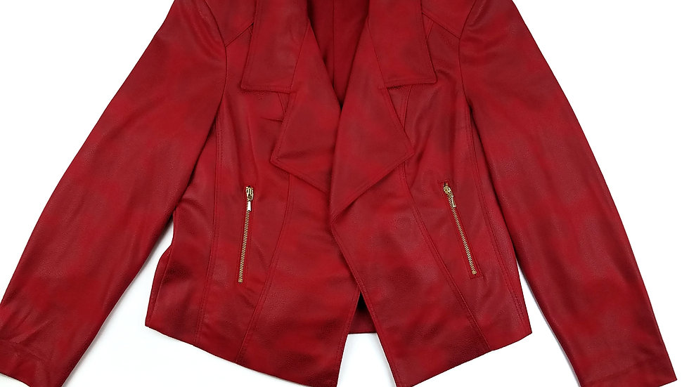Tanjay red jacket size 8