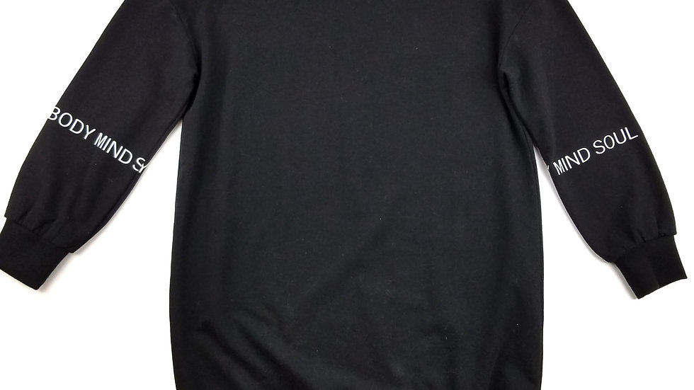 La Vie en Rose black PJ night shirt size small