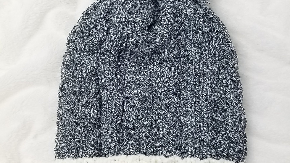 Work Collection cable knit hat