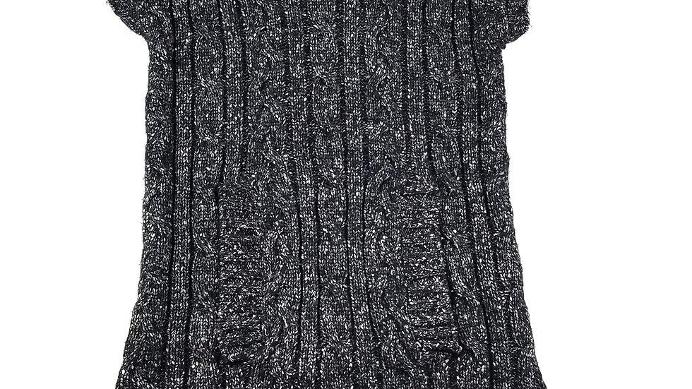 INC grey sleeveless long sweater size XL