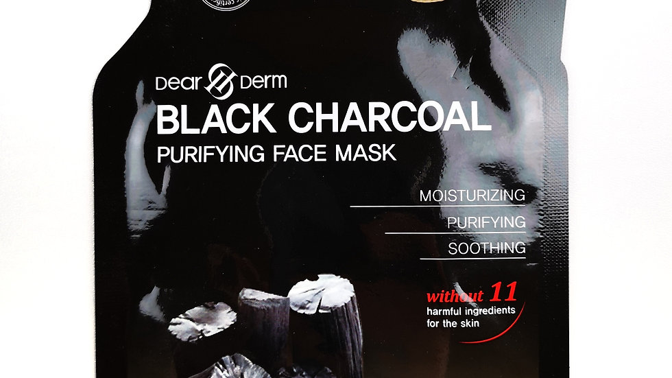 Skincare - Black charcoal purifying face mask