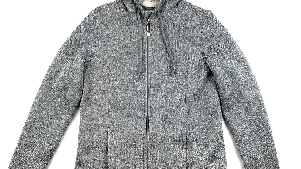 Windriver grey hoodie with faux fur lining size medium