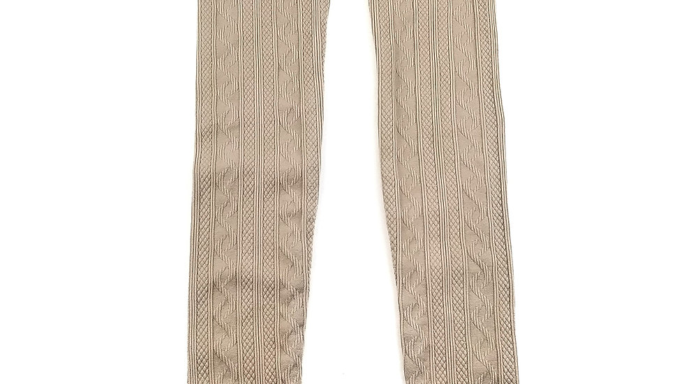 Lily Morgan beige leggings size sm/med