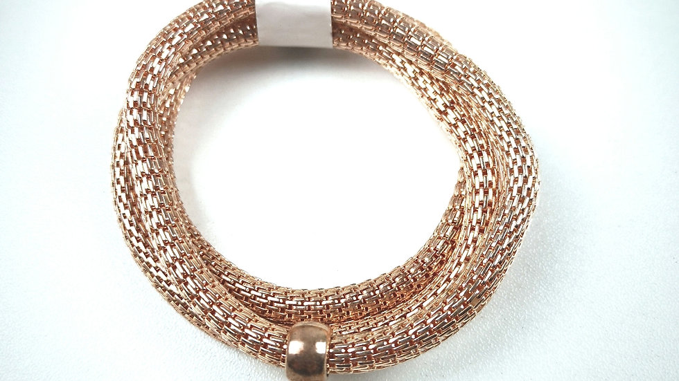 3 strand bracelet with heart