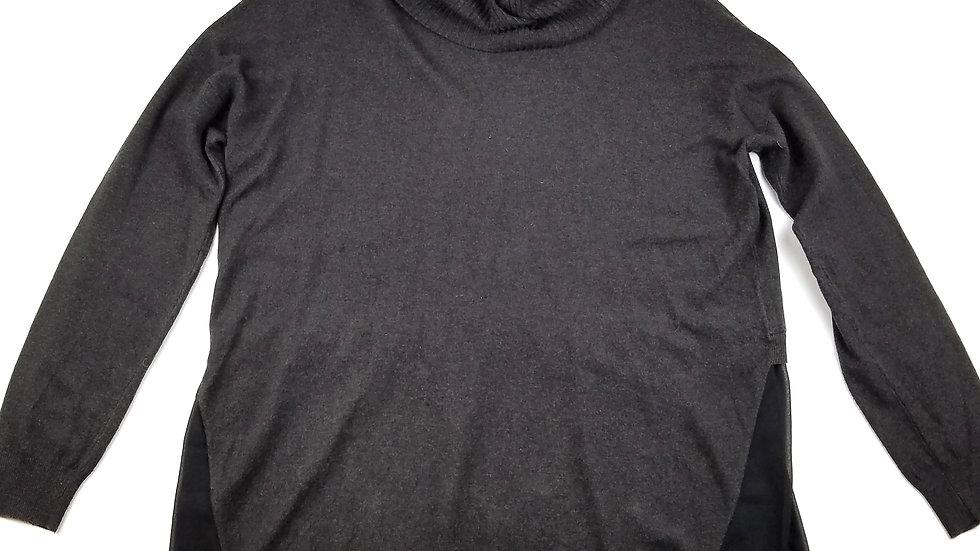 Picadilly dark grey with sheer bottom size XL