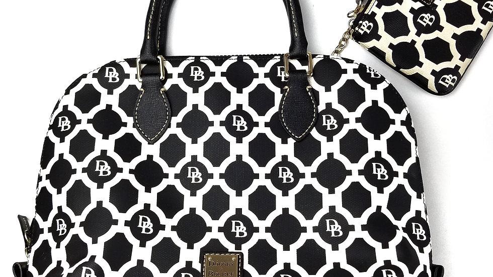 Dooney & Bourke handbag with wristlet