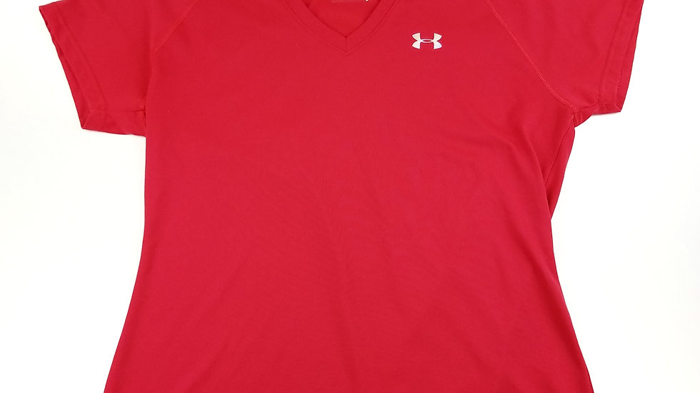 Underarmour coral athletic tshirt size medium