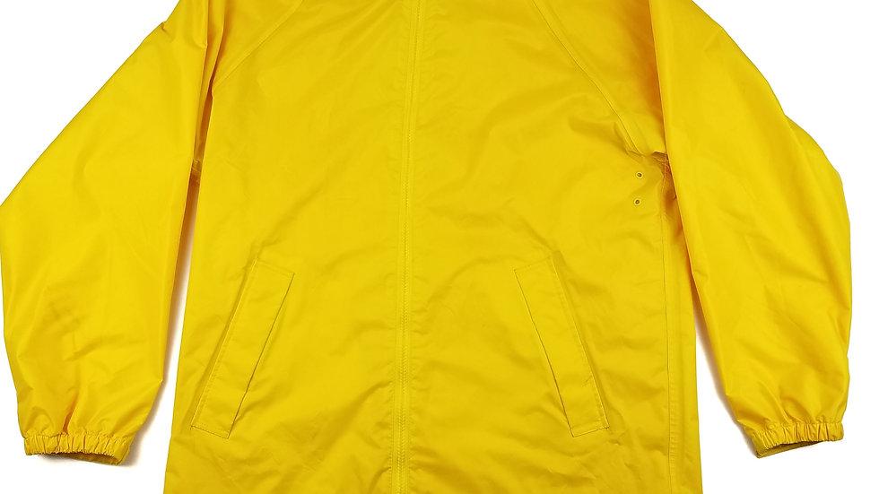 Pioneer yellow rain jacket size xsmall