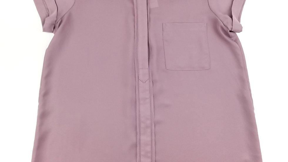 Simply Vera lilac short sleeve blouse size medium