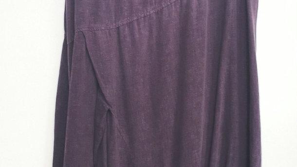 Stella Carakasai 100% cotton purple dress size XL