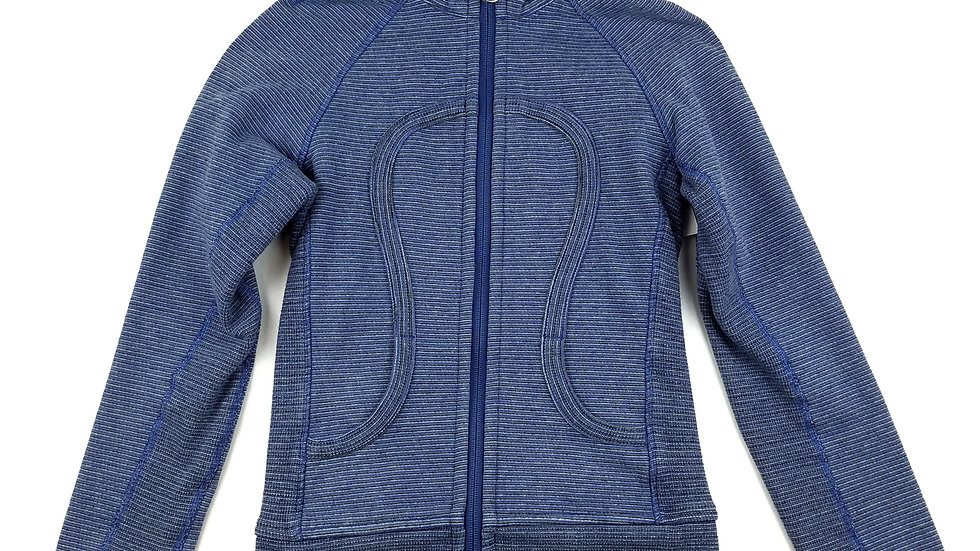 Lululemon blue striped hoodie size 2