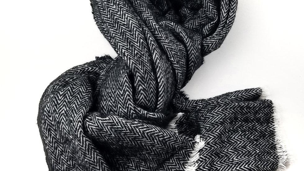 Large scarf chevron pattern