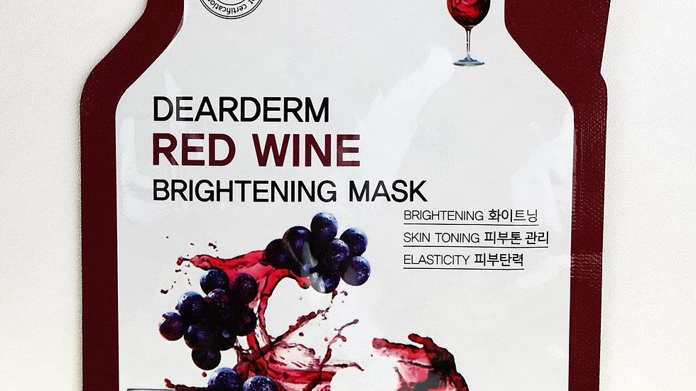 Skincare - red wine brightening mask