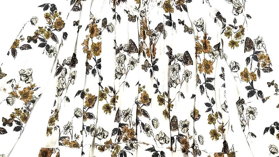 Free People dress/tunic flora pattern size medium