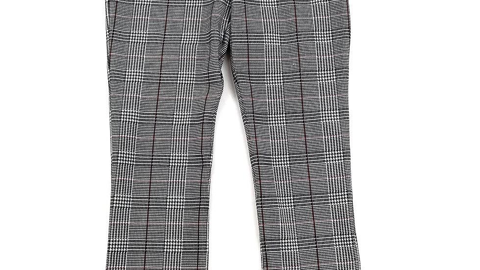 Nygard black/red/white slim pants size small