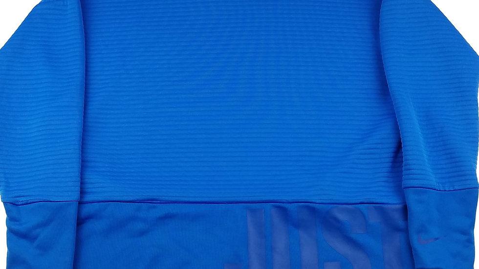 Nike dri-fit blue athletic top size medium