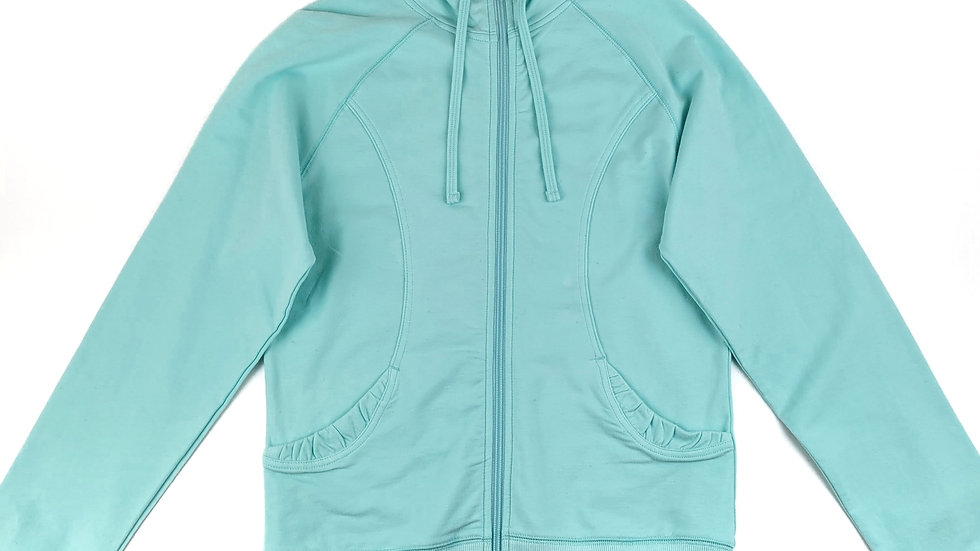 Champion mint green zip hoodie size small