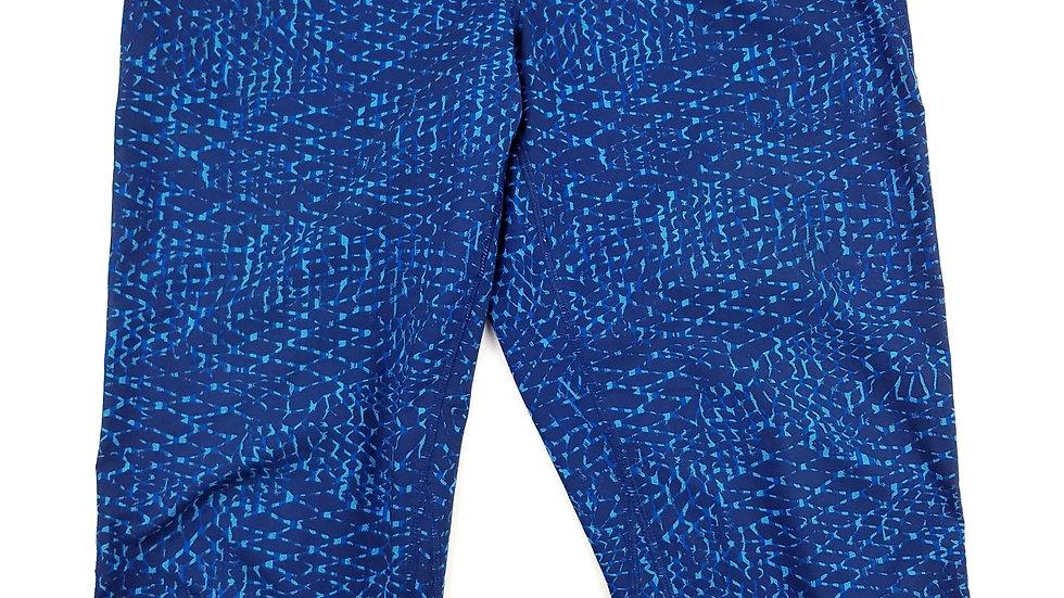 Lululemon navy/light blue athletic pant size 4