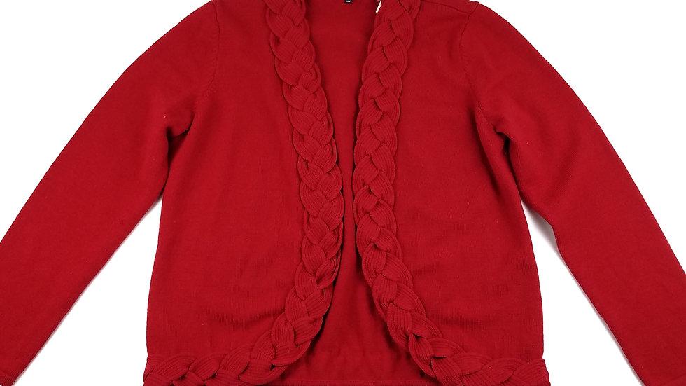 Jones New York red cardigan size XL