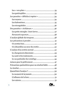 Sommaire livre analyse coprologique partie 2