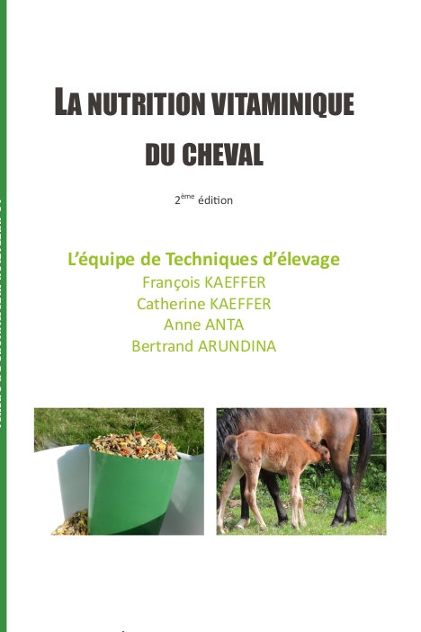 La nutrition vitaminique du cheval