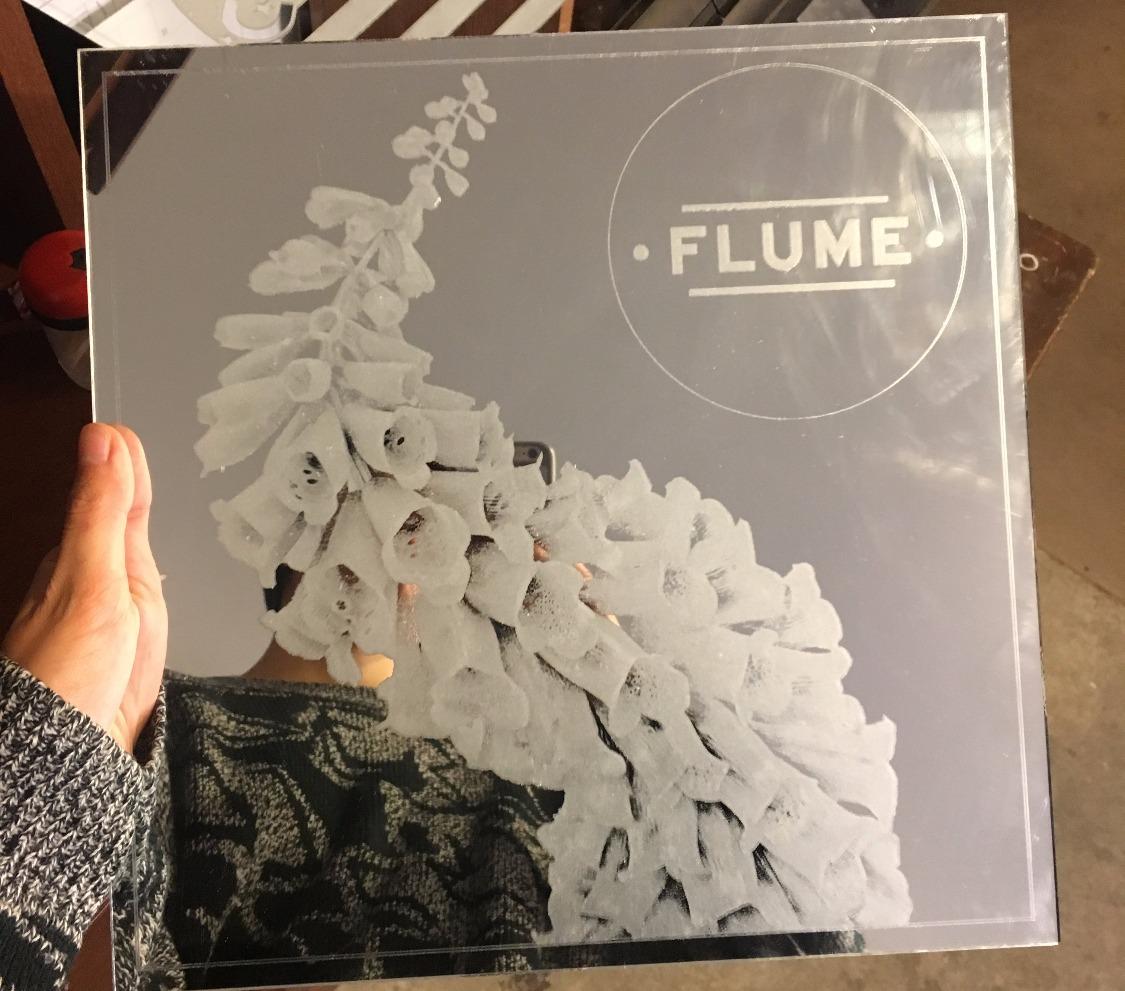 Flume mirror