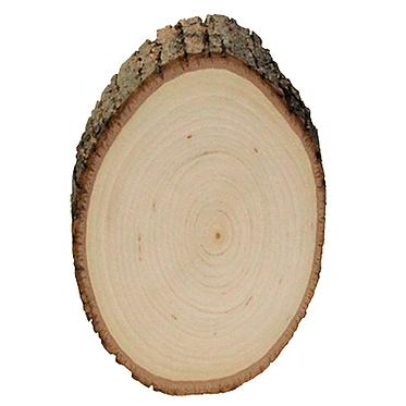Custom Engraved Basswood Round (Medium)