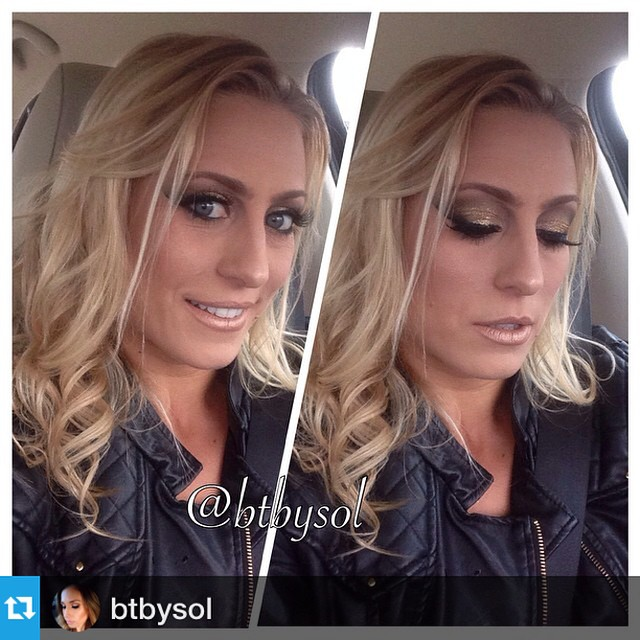 "Facebook - #FabulousFriday...Love love love the #Makeup!✨ ""Miss @socalseaangel G"