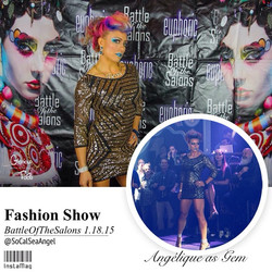 Facebook - Last night was epic!! #FashionShow for the #BattleOfTheSalons #SanDie