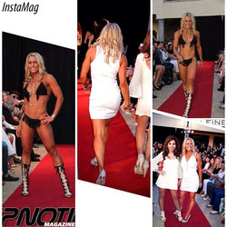 Facebook - What a great exhilarating and fun time walking the #runway for #finem