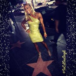 Facebook - I said if I get 1st I'd wear the #gold dress & gold heels.jpg