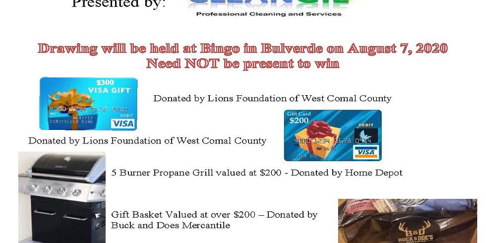 Bingo in Bulverde Raffle Ticket Purchase (1)