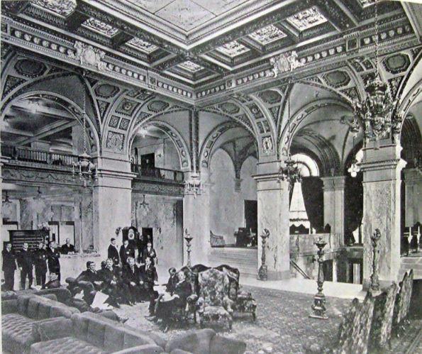 fancy hotel, columns, renaissance