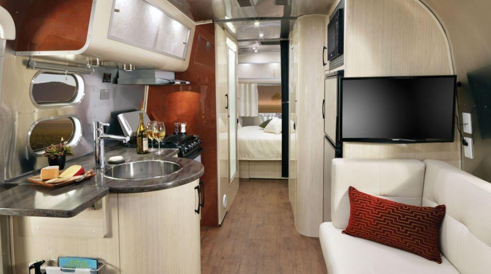 airstream, airstream interior design, interior airstream
