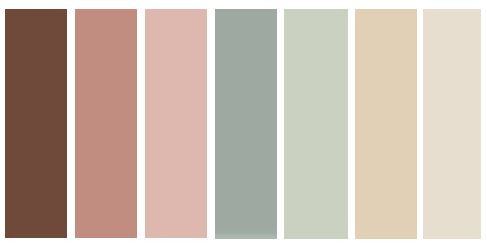 fall color palette, muted fall color palette
