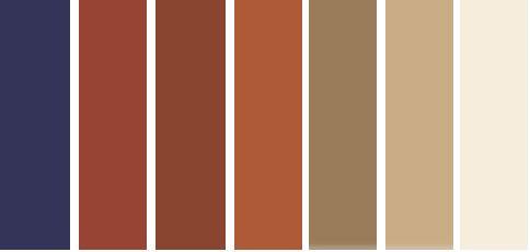 bold fall color palette, fall color palette, fall decor