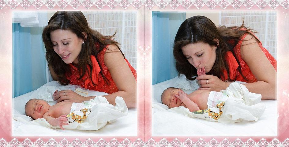 Вот так надо пеленать новорожденных и обязательно фотографировать не светя вспышкой в лицо