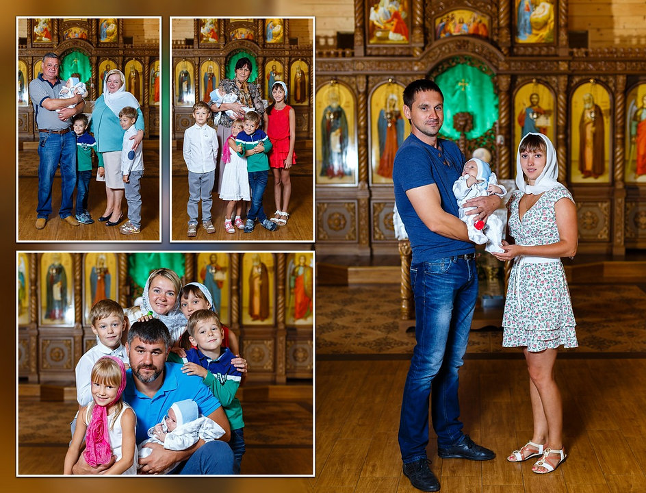 Красивый деревянный храм во имя преподобного Серафима Саровского